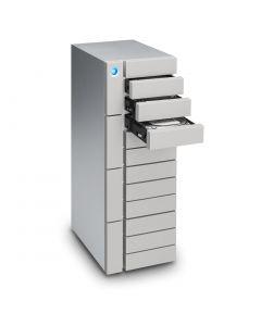 LaCie 12big 72TB RAID drive 12 hot-swapable 7200rpm enterprise-class hard disks Thunderbolt3 and USB 3.1 STFJ72000400