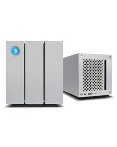 LaCie 2big 12TB Thunderbolt 2 and USB 3.0 dual-disk hardware RAID drive STEY12000400