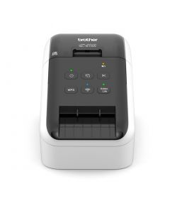Brother QL-810W desktop USB 2.0 Wi-Fi black and red printing label printer