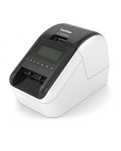 Brother QL-820NWB desktop USB 2.0 Wi-Fi Ethernet Bluetooth black and red printing label printer