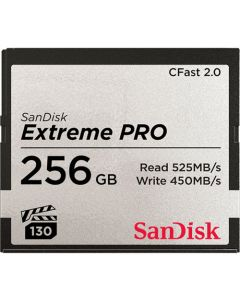 SanDisk Extreme Pro CFast 2.0 256 GB memory card up to 525 MB/s SDCFSP-256G-G46D