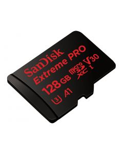 SanDisk Extreme Pro microSDXC 128 GB UHS-I memory card up to 100 MB/s SDSQXCG-128G-GN6MA