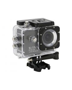 SilverLabel Focus action camera 4K ultra high definition with waterproof housing USB, Wi-Fi and HDMI connections