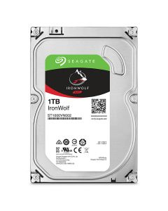 "Seagate IronWolf 3.5"" 1TB SATA 6 Gb/s internal NAS hard drive ST1000VN002"