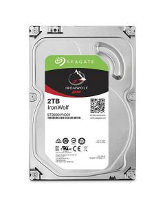 "Seagate  IronWolf 3.5"" 2TB SATA 6 Gb/s internal NAS hard drive ST2000VN004"