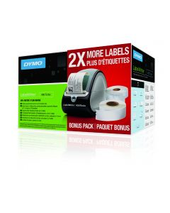 Dymo LabelWriter 450 Turbo Bonus Pack USB label printer for PC and Mac 1969977