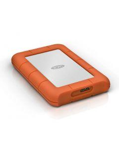 """LaCie Rugged Mini 4TB 2.5"""" External Hard Drive USB 3.0 5400 rpm Orange 9000633"""