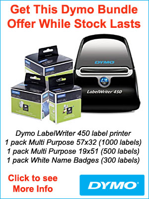 Dymo LabelWriter 450 bundle callout