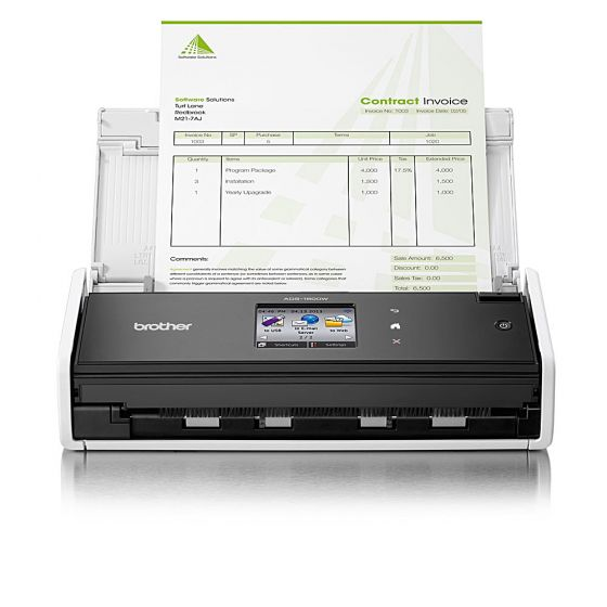 Brother ADS-1600W A4 wireless network document scanner