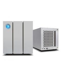 LaCie 2big Thunderbolt 2 and USB 3.0 8TB dual-disk hardware RAID drive STEY8000401
