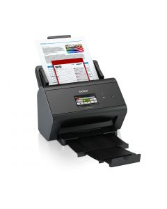Brother ADS-2800W A4 wired and wireless desktop document scanner