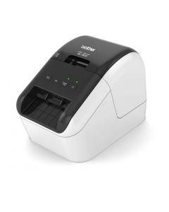 Brother QL-800 desktop USB 2.0 black and red printing label printer