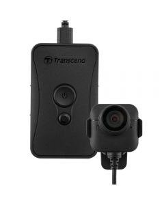 Transcend DrivePro Body 52 body camera IPX4 rated with 3.5 hour battery Wi-Fi HD 1080p TS32GDPB52A