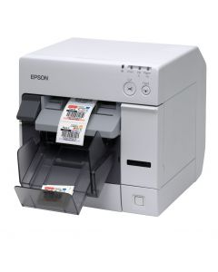 Epson ColorWorks TM-C3400 desktop colour inkjet label printer USB with NiceLabel software C31CA26012CD
