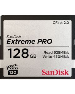 SanDisk Extreme Pro CFast 2.0 128 GB memory card up to 525 MB/s SDCFSP-128G-G46D