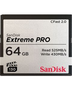 SanDisk Extreme Pro CFast 2.0 64 GB memory card up to 525 MB/s SDCFSP-064G-G46D