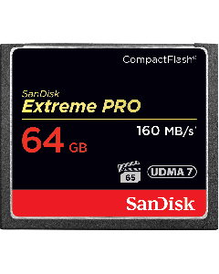 SanDisk Extreme Pro CompactFlash 64 GB memory card up to 160 MB/s SDCFXPS-064G-X46