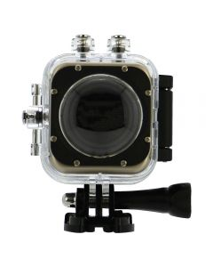 SilverLabel Focus action camera 360° ultra wide angle with waterproof housing USB, Wi-Fi and HDMI connections