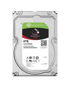 "Seagate  IronWolf 3.5"" 6TB SATA 6 Gb/s internal NAS hard drive ST6000VN0033"