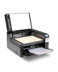 Kodak i2900 A4 rotary and built-in book-edge flatbed document scanner
