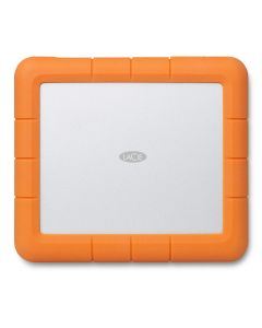 LaCie Rugged RAID Shuttle 8TB mobile 2-drive RAID 0 & 1 self-encrypting external hard drive USB-C (USB 3.0 & 2.0) STHT8000800