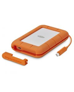 LaCie Rugged Secure 2TB Encrypted mobile hard drive USB-C (compatible with Thunderbolt, USB 3.0, USB 2.0) STFR2000403