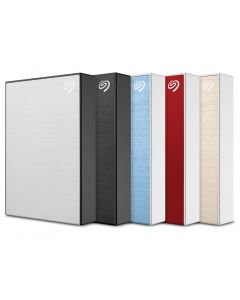 Seagate Backup Plus 4TB USB 3.0 portable external hard drive in red STHP4000403