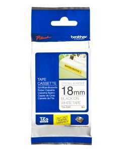 Brother TZe-S241 18mm Strong Adhesive Laminated tape black on white